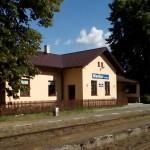Staniční budova Mladějov na Moravě