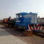 """Odjezd """"hřbitovního"""" vlaku"""