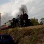 Zvláštní vlak směr Brno